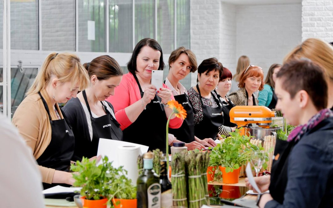 Wiosenne eksperymenty kulinarne z  finalistą TOP CHEF!