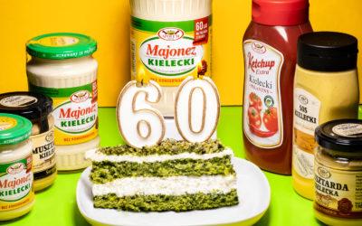 Majonez Kielecki obchodzi 60 urodziny!
