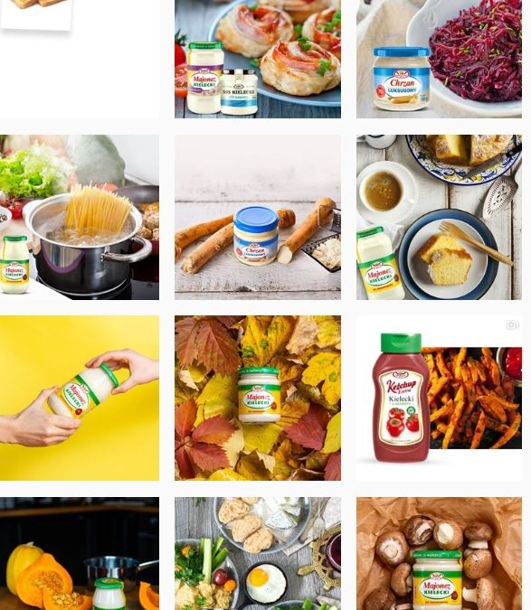 Inspiracje kulinarne na Instagramie Majonezu Kieleckiego