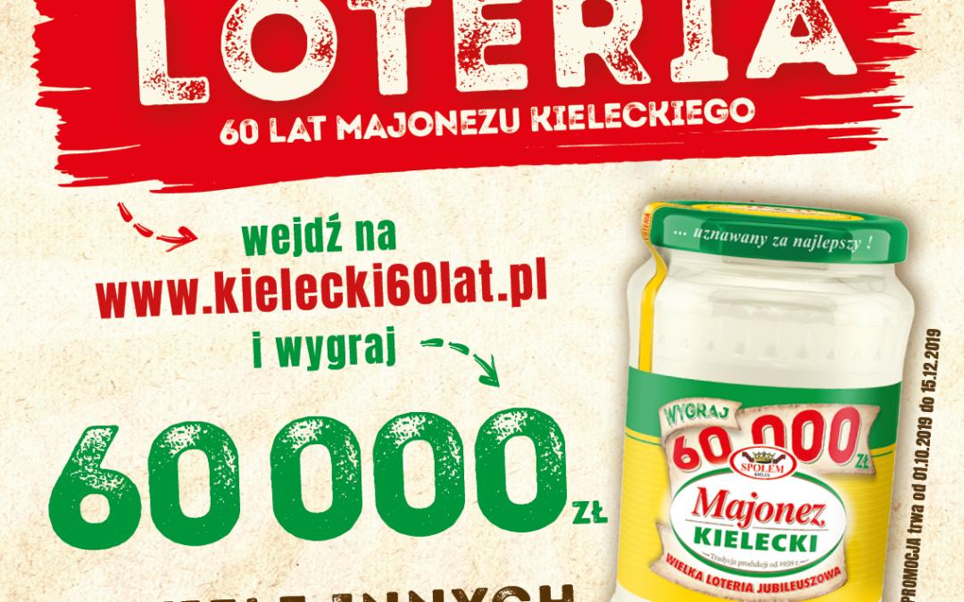 Wyjątkowa loteria na 60. urodziny marki Majonez Kielecki